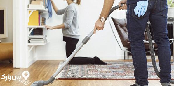 مدیریت کارهای خانه