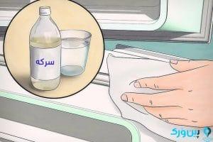 تمیز کردن یخچال با سرکه