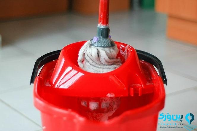 خشک کردن تی