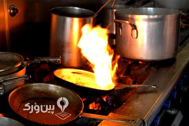 سوختگی در آشپزخانه و درمان خانگی سوختگی