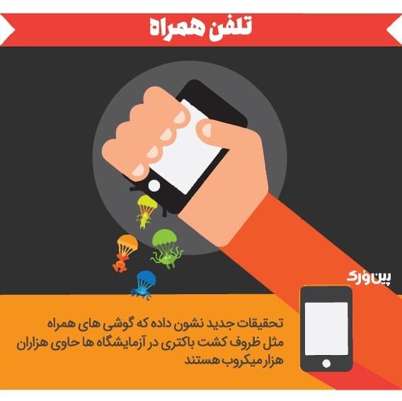 موبایل کثیف