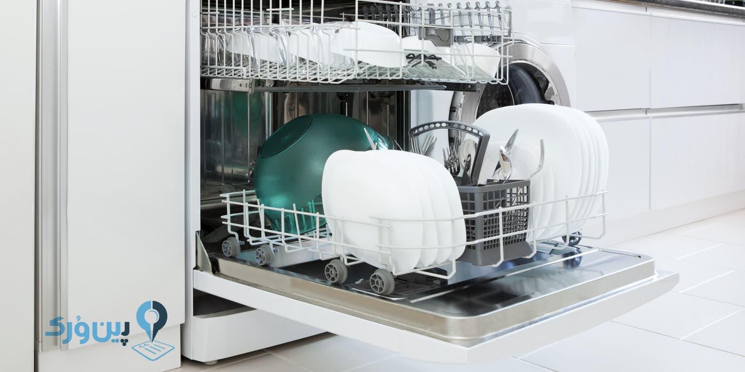 نحوه استفاده از ماشین ظرف شویی