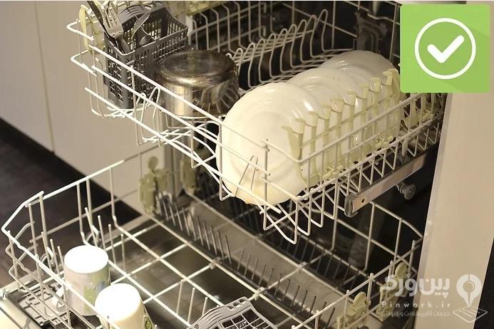 نحوه استفاده از ماشین ظرفشویی 2