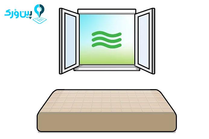 7 روش تمیز کردن تشک تخت