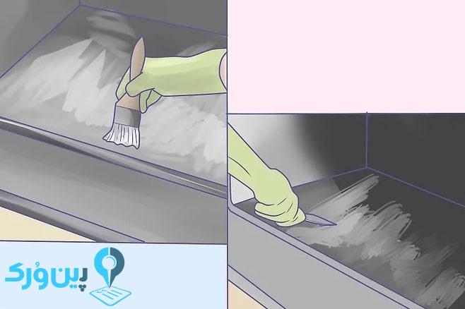 نحوه تمیز کردن آشپزخانه 13