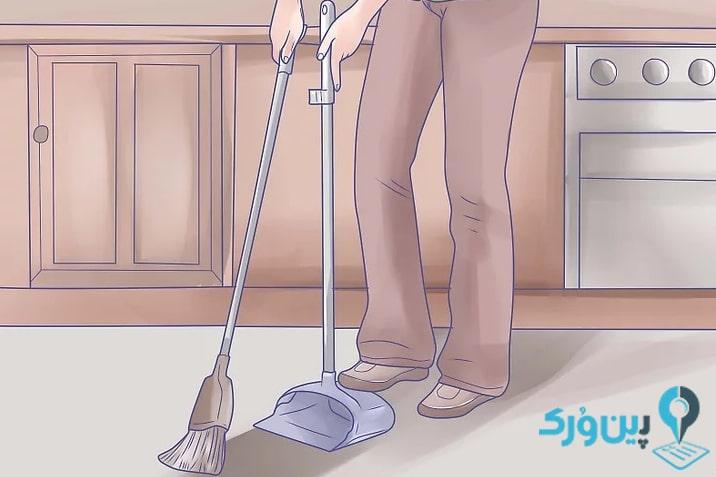 نحوه تمیز کردن آشپزخانه 81