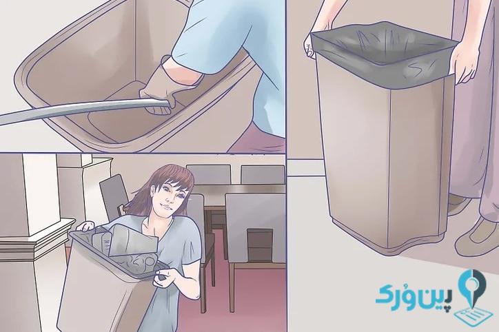 نحوه تمیز کردن آشپزخانه 51