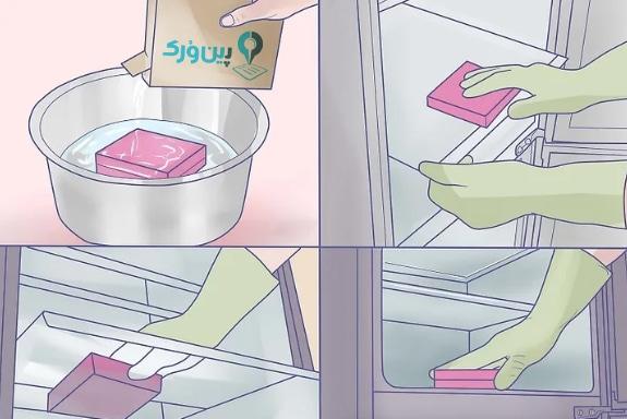 نحوه تمیز کردن آشپزخانه 22