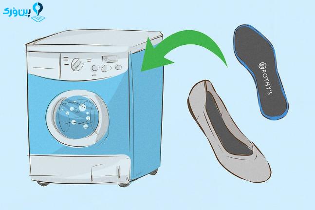 شستن کفش های روتیز 2