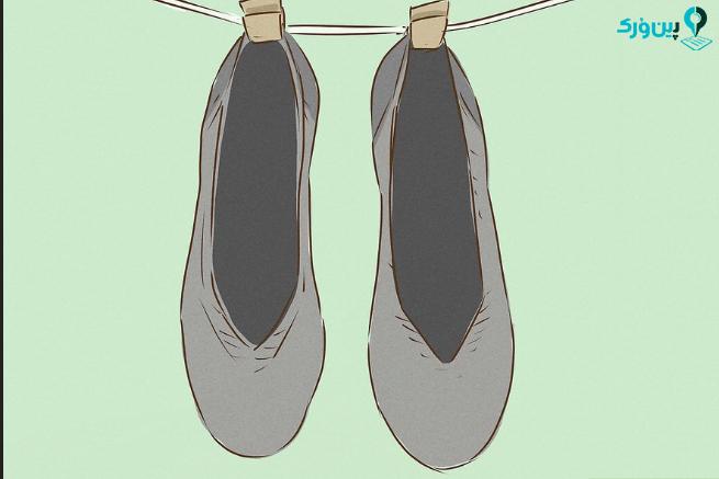 شستن کفش های روتیز 5