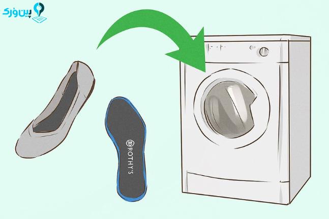شستن کفش های روتیز 7