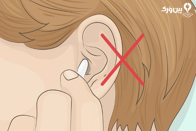 نگه داشتن هندزفری در گوش 4