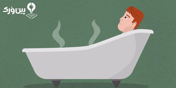 حمام آب گرم در سرماخوردگی