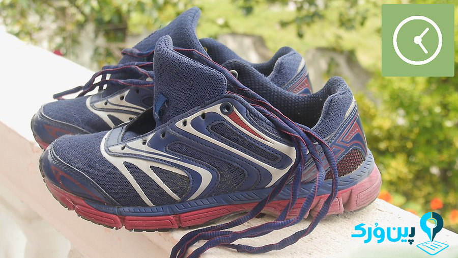 خشک کردن کفش در هوای آزاد