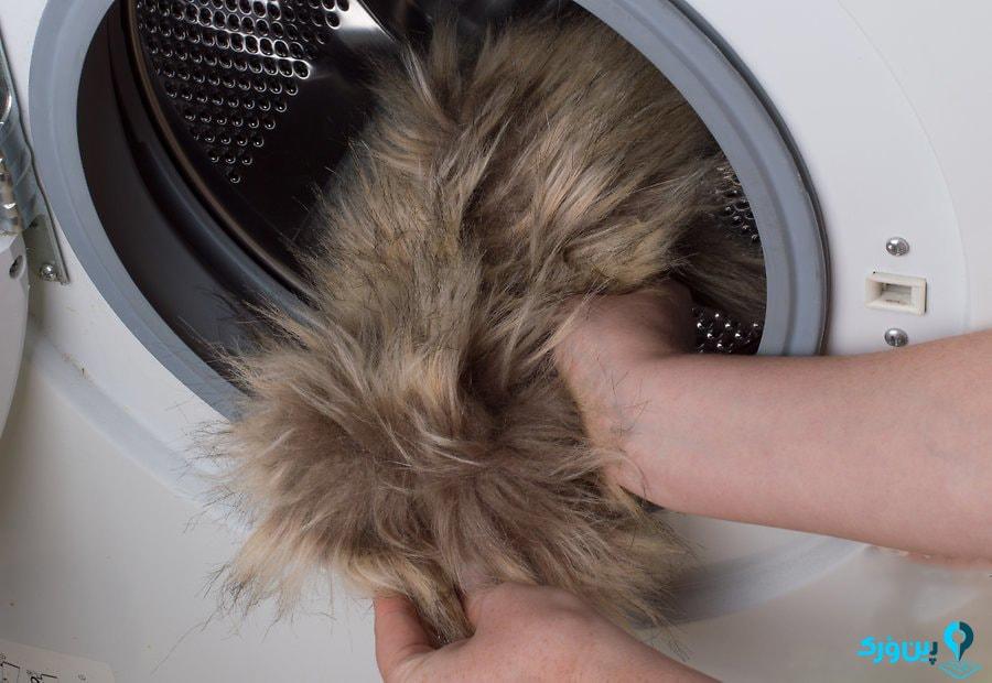 شستن خز مصنوعی مرحله دوم-min