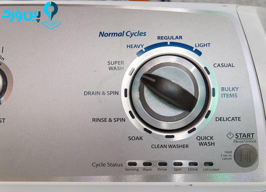 استفاده از سیستم شست و شوی قوی یا بخار شوی