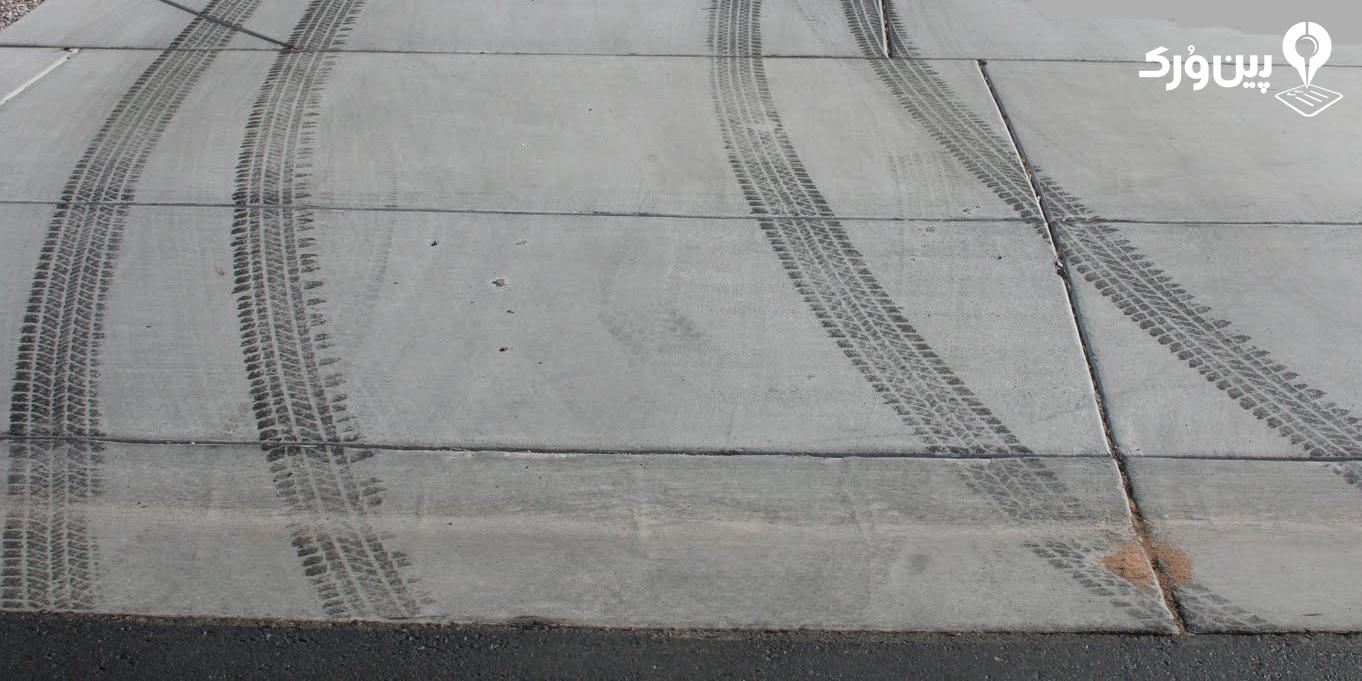 پاک کردن رد لاستیک پارکینگ
