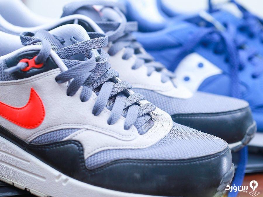 استفاده ی متناوب از کفش ها