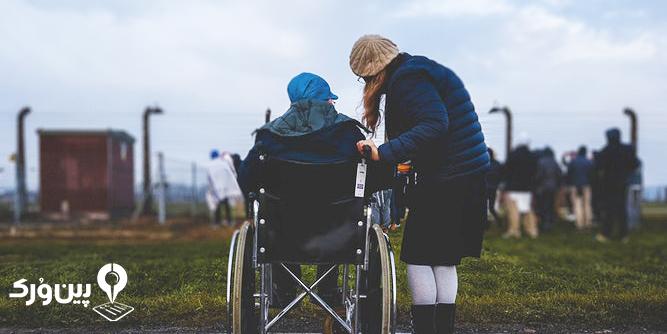 کمک به معلولین