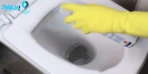 شستن بیرون کاسه توالت