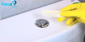 استفاده از قرص ضدعفونی کننده در تانک توالت