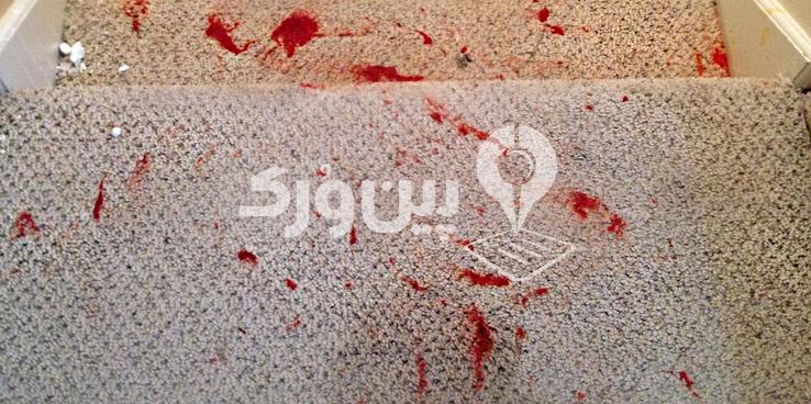 از بین بردن لکه رنگ از روی فرش با کف صابون