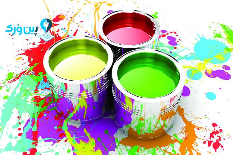 تمیز کردن رنگ از روی لباس نقاشان ساختمان