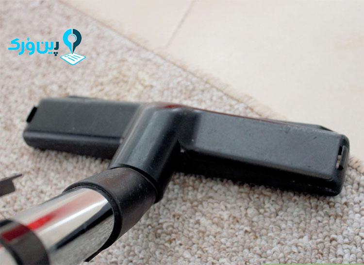 از بین بردن لکه چربی از روی فرش