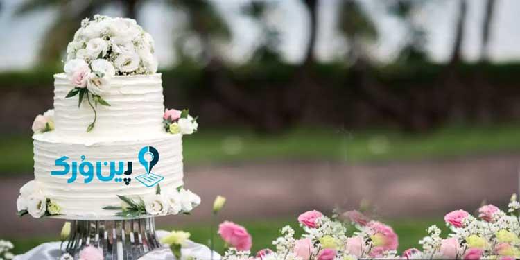 مدل کیک عروسی شیک و ارزان