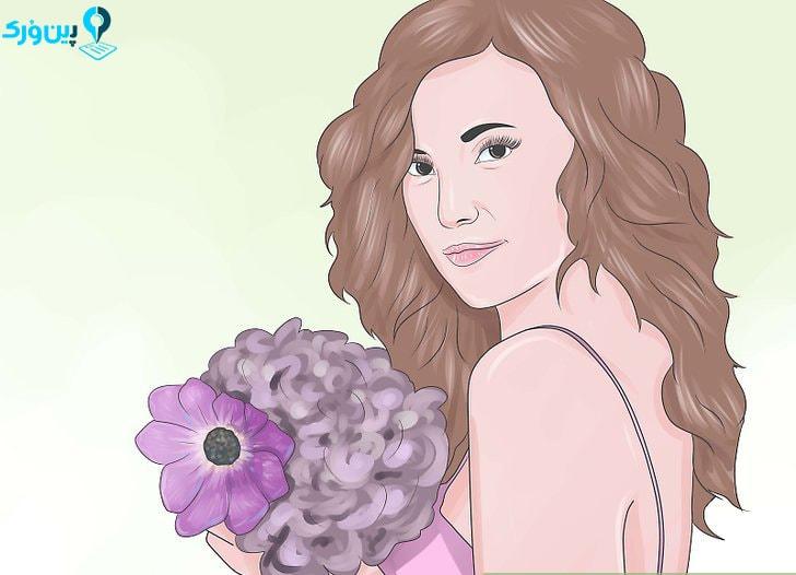 سفارش دسته گل عروس