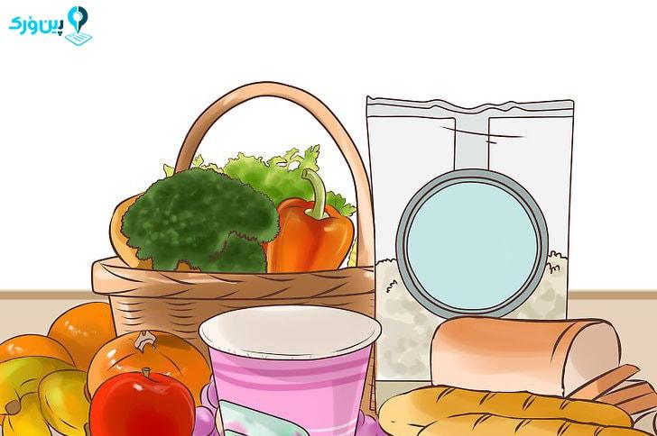 مصرف غذاهای غنی از فیبر برای تناسب اندام