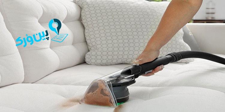 بهترین روش تمیزکردن مبل در منزل