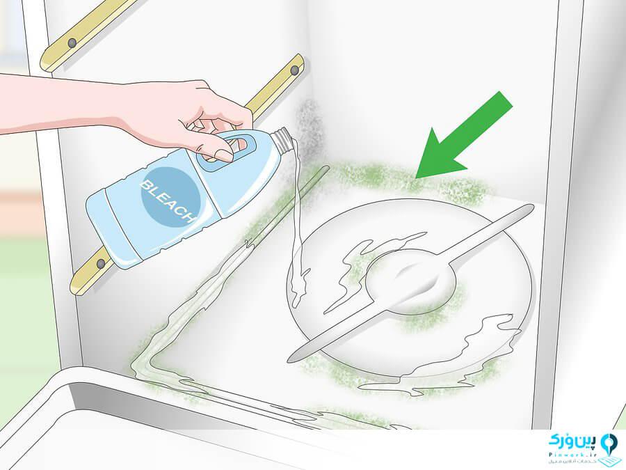 شستن ماشین ظرفشویی