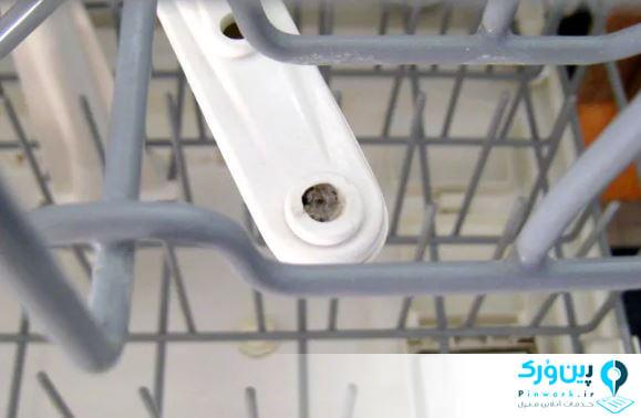 تمیز کردن داخل ماشین ظرفشویی