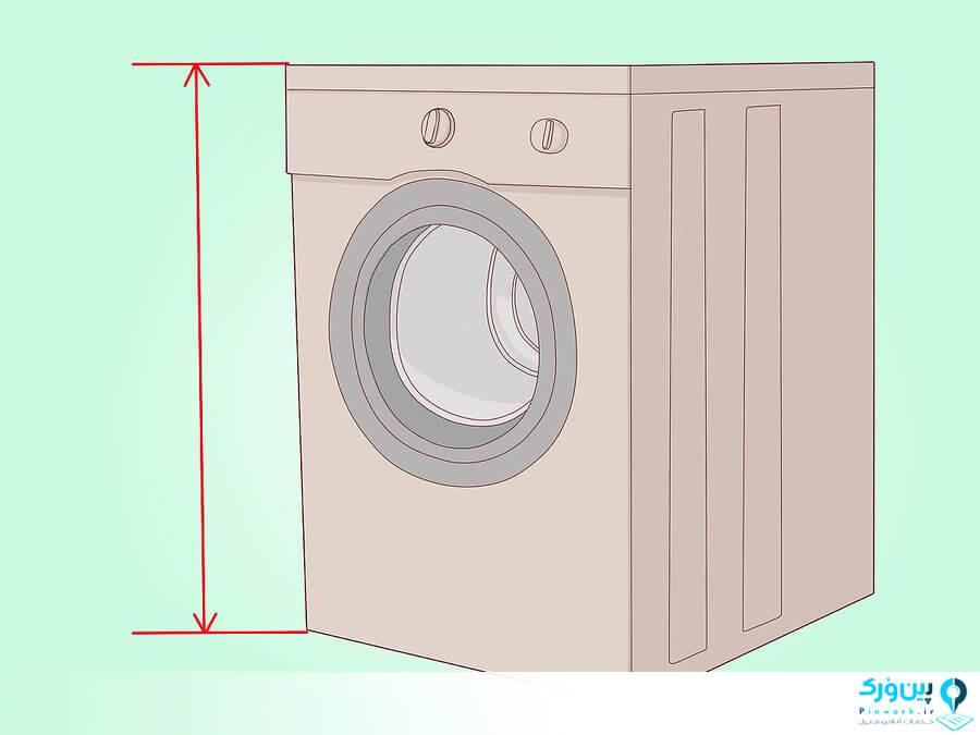 سایز ماشین لباسشویی