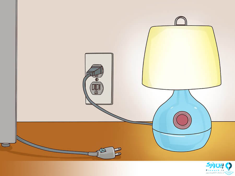 چک کردن اتصال برق