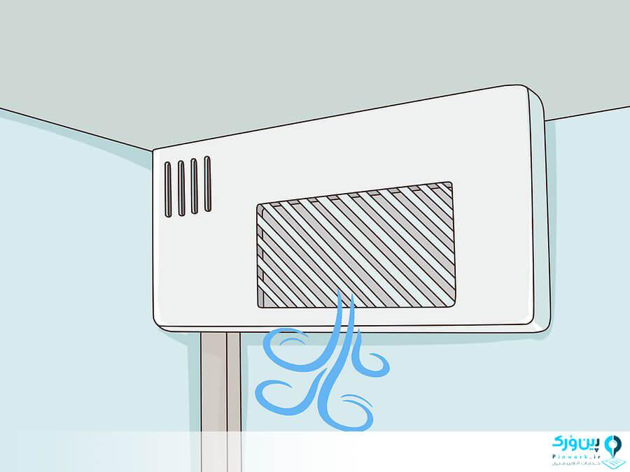 چک کردن شبکه هوای خنک یخچال
