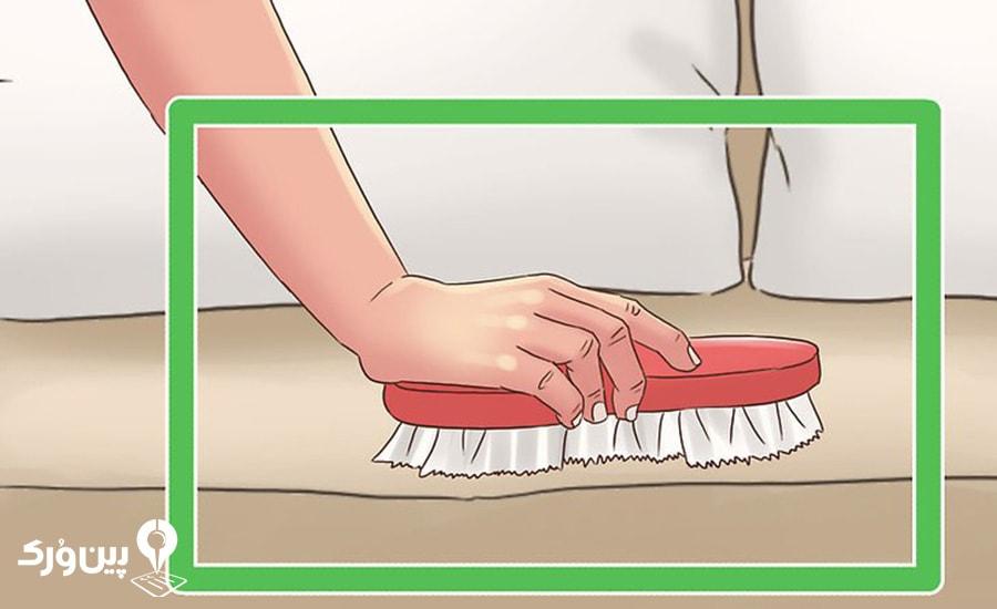 برس کشیدن مبل