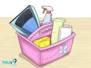 ایجاد جعبه های نظافتی برای بچه ها
