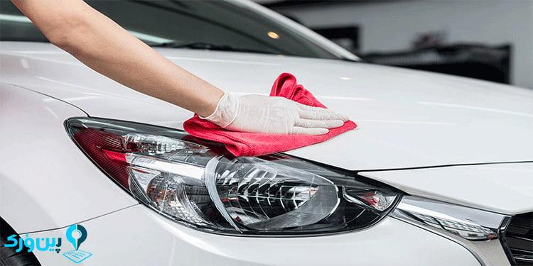 نحوه شستن ماشین