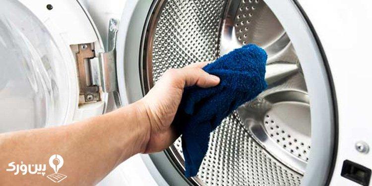 تمیز کردن ماشین لباسشویی با سرکه