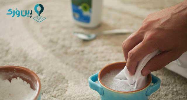 طرز تهیه شامپو فرش خانگی