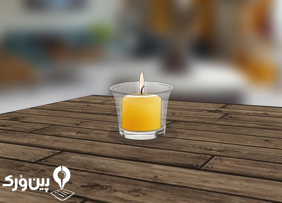 جلوگیری از ورود حشرات با استفاده از شمع