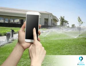 سیستم آبیاری در خانه هوشمند