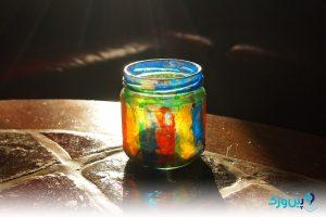 پاک کردن لکه رنگ از روی شیشه