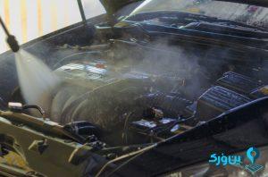 شست و شوی موتور ماشین