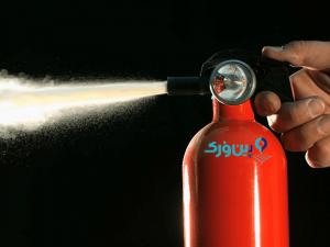 نحوه استفاده از کپسول آتش نشانی