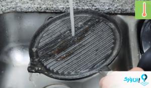 چگونه ظروف چدنی را بشوییم