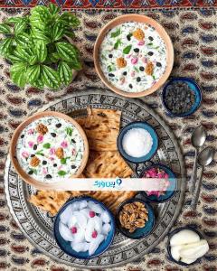 طرز تهیه آب دوغ خیار