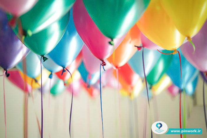 بادکنک جشن تولد